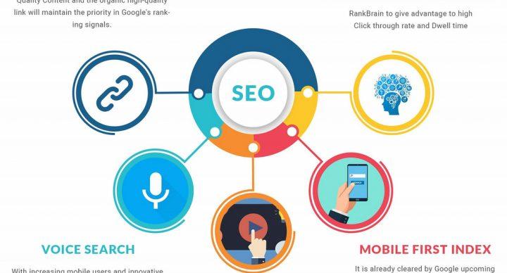 An infograph of the top 5 SEO plugins